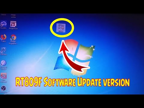 RT809F Software download update version