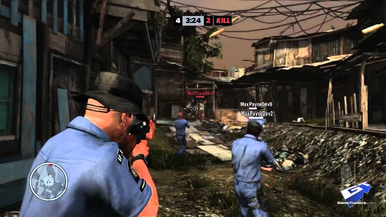 Max Payne 3 Multiplayer Gameplay Trailer Part I Youtube