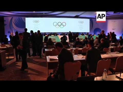 International Olympic Committee session gets underway
