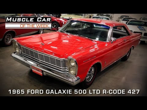 Muscle Car Of The Week Video Episode #85: 1965 Ford LTD R-Code 427 Video