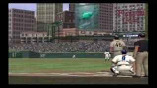 MLB 10 The Show (PS2) Pirates vs. Tigers (Rivalry mode)