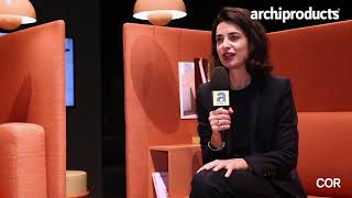 Orgatec 2018 | COR - Pauline Deltour presents Floater and Drop