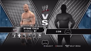 WWE Smackdown vs Raw 2010 Character Select Screen Including All DLC Packs Roster