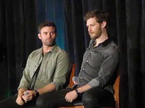 TVDChicago 2018  Joseph and Daniel favorite Mikaelson, spirit animal