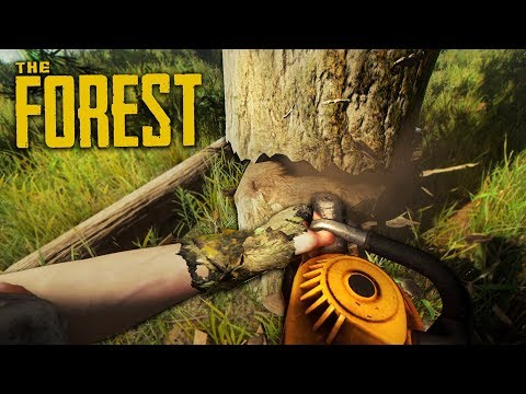 UPGRADING OUR BASE!! (The Forest)
