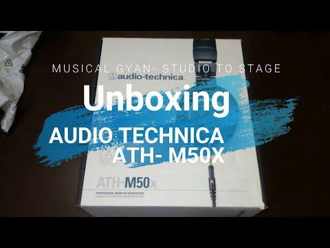 Best Studio Monitor Headphone Under 10k Audio Technica Ath-M50x Unboxing & Features Hindi/urdu