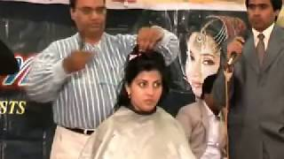 """Excellent Cosmetics"" Hair Cuts in 12th Bridal Competetion Thumbnail"