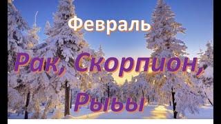 #Гороскоп #Радмила РАК,  СКОРПИОН,  РЫБЫ!  ТАРО ПРОГНОЗ  ГОРОСКОП СОБЫТИЙ НА ФЕВРАЛЬ! YOU TUBE