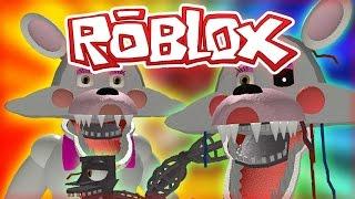 FNAF ROBLOX - MANGLE UND FUNTIME FOXY- FNAF ROBLOX ROLEPLAY