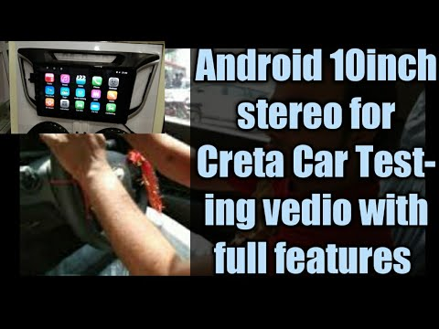 Creta Double Din Android Stereo 10inch || Lattest version|| 100% full fitment|| Equaliser Awesome