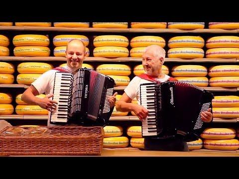 Accordion folk music Israeli Hora Dance - Akkordeon Duet fisarmonica akordeon accordeon acordeon