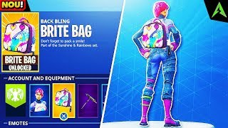 """NOUL """"Brite Bag"""" Secret *GLITCH* in Fortnite - Cum dai UNLOCK """"Brite Bag"""" in Fortnite Battle Royale!"""