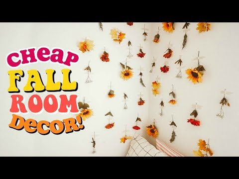 DIY Fall Room Decor Ideas (Cheap & Easy!)
