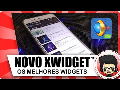 SAIU! NOVO XWIDGET PRO - OS MELHORES WIDGETS PARA ANDROID 2018