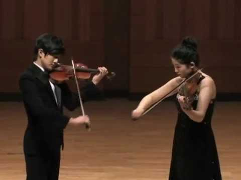 Passacaglia for Violin and Viola (Halvorsen, Johan) Hayang Park(하양 비올라)