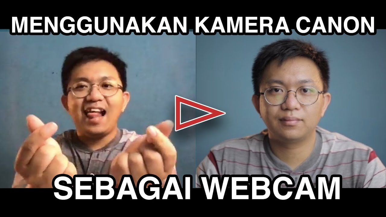 Using canon camera as a webcam device