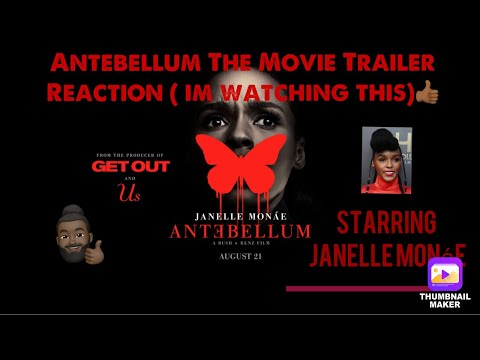 Antebellum The Movie Trailer Reaction  Starring Janelle Monáe 👍🏾