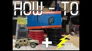 Installing a Step Down Converter on a Humvee 24/12 volt converter | BULLET HACKS