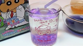 Crayon Shinchan Jikken Drink Set DIY Candy Experiments