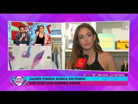AMOR AMOR AMOR 06/04/16 JAZMIN PINEDO HABLA SOBRE LA INESPERADA RENUNCIA DE SANDRA ARANA A 'E'