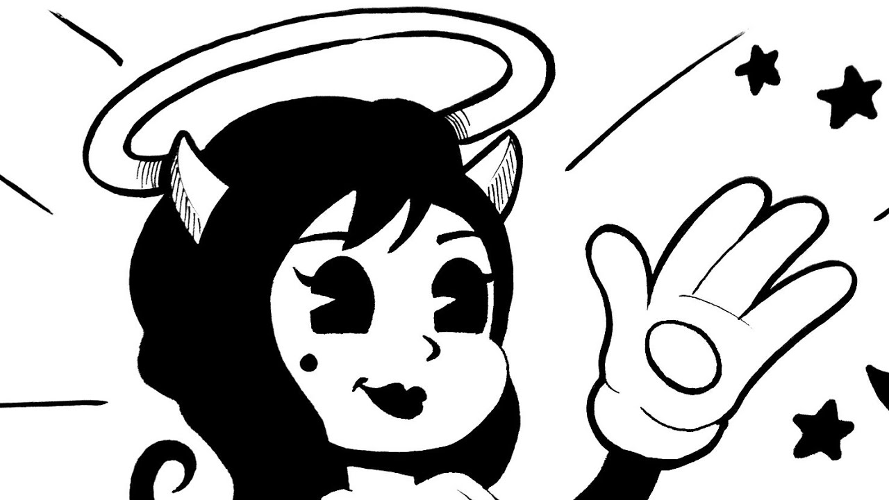 alice angel coloring pages | How to draw Alice Angel - YouTube
