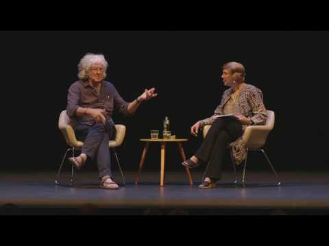 Michael Leunig in conversation with Caroline Baum at the 2017 Newcastle Writers Festival.