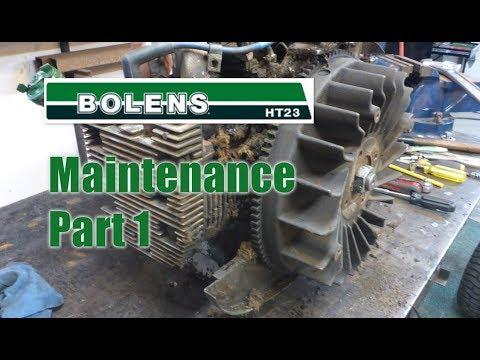 45 Bolens Maintenance - Part 1 - YouTube