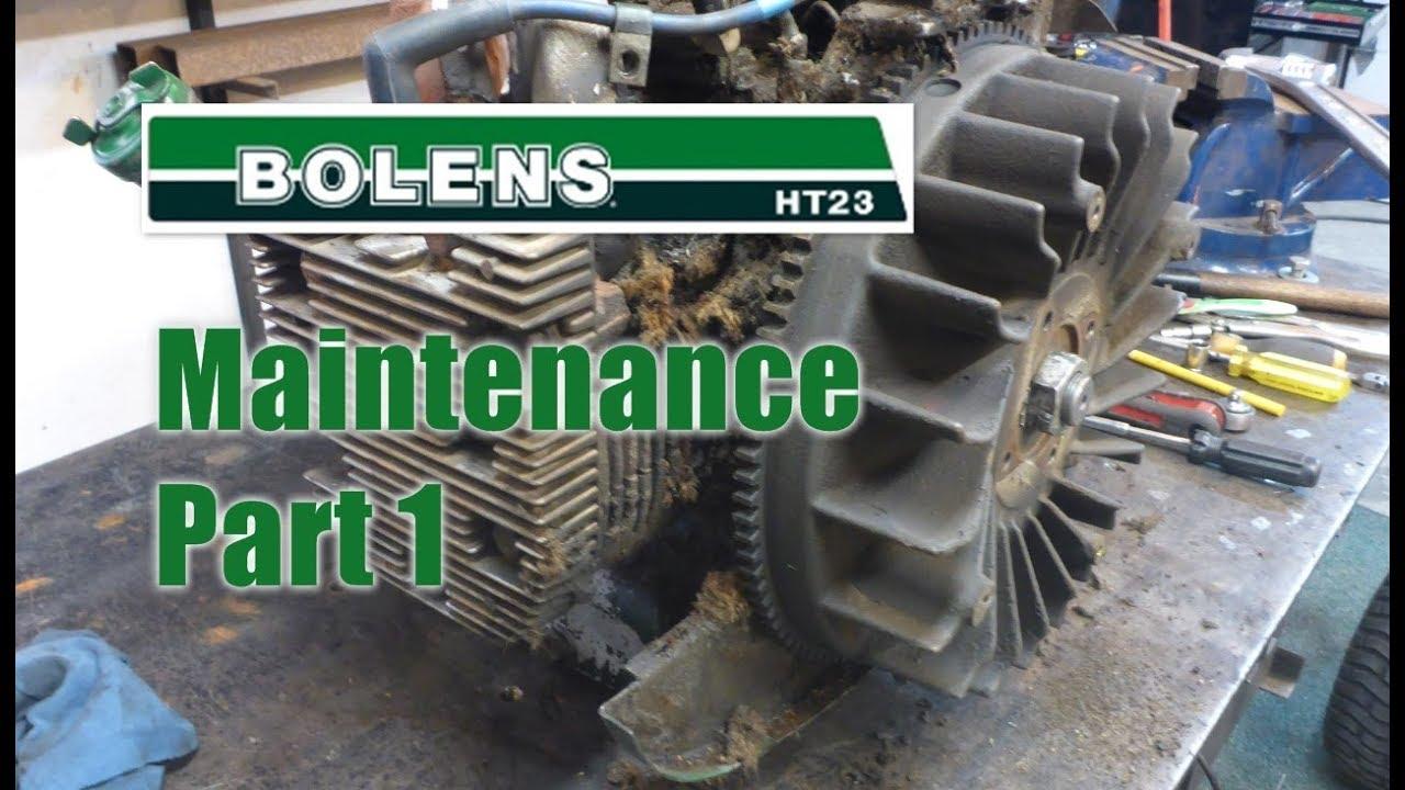 #45 Bolens Maintenance - Part 1