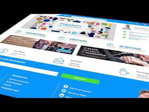 Promotional Webshop