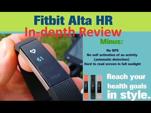 Fitbit Alta HR In-depth Review (accuracy heart rate)