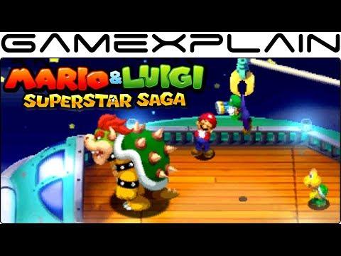 10 Minutes of NEW Mario & Luigi: Superstar Saga 3DS Gameplay (Fawful, Battles, & More!)