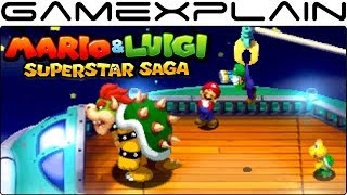 10 Minutes of NEW Mario & Luigi: Superstar Saga 3DS Gameplay (Fawful, Battles, & More!)