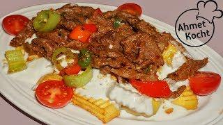 Sultan Kebab mit Pommes | Ahmet Kocht | türkisch kochen | Folge 273