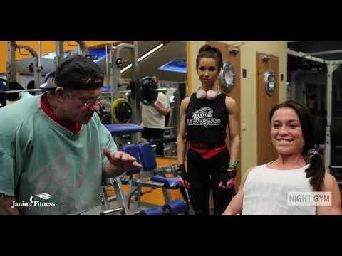 Ясиновский Николай в гостях у Night Gym (тренировка спины и бицепса)