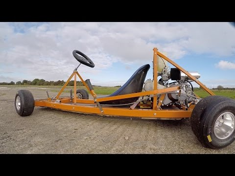 Making a Motorised Go Cart with NO WELDER and simple tools #2 Finish/Test