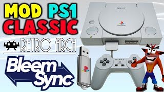 Quickly Hack PS1 Classic! Install BleemSync 1.1.0!