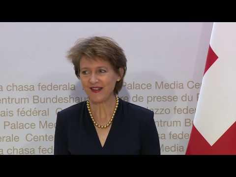 State Visit Ghana/Switzerland - Press conference