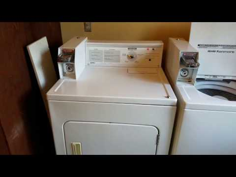 Kenmore Coin Op Dryer, Cabinet Lock Removal - YouTube