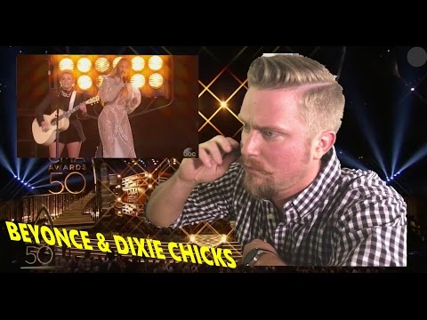 Beyonce and Dixie Chicks - Daddy Lessons (live at CMA Awards 2016) REACTION VIDEO