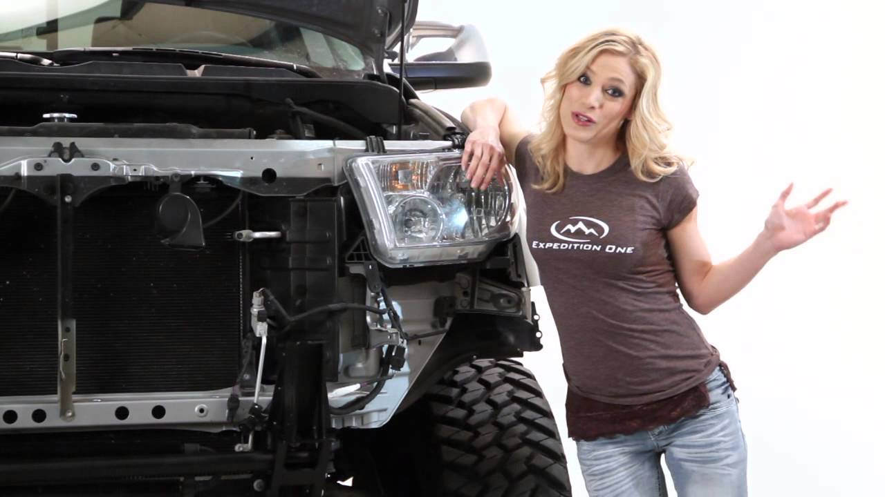 Expedition One 2008 Tundra Front Winch Bumper And Rear