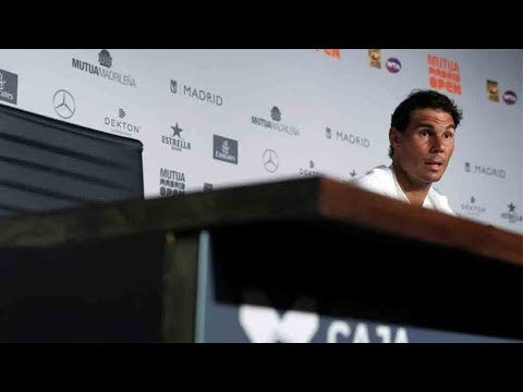 Rafael Nadal Pre-tournament press conference at Madrid Open 2018