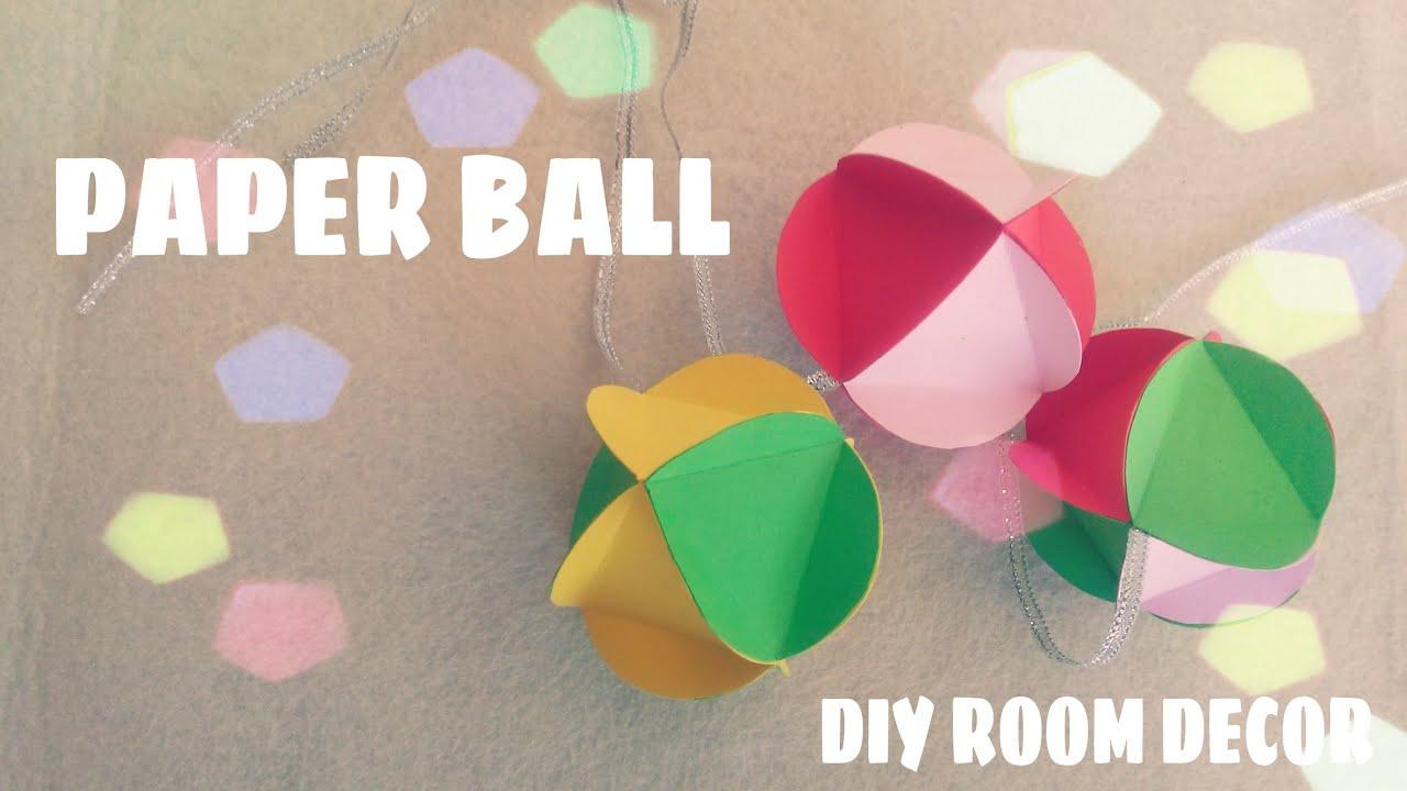 origami facile guirlande en papier youtube. Black Bedroom Furniture Sets. Home Design Ideas