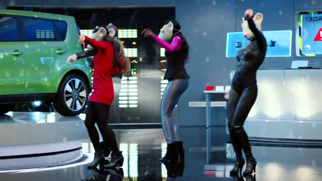 Kia Soul Ev >> 2015 Kia Soul EV Hamster Dance Featuring Animals by Maroon 5 HamstarDance - YouTube