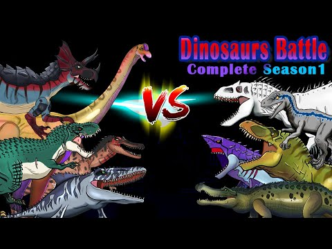 Dinosaurs Battle 15 Match Full ver.(Complete Season1)