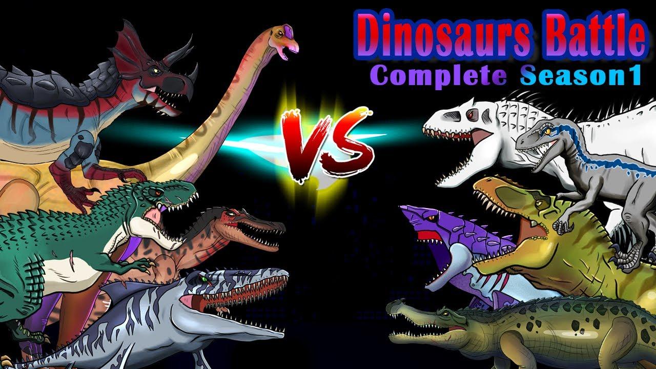 Download Dinosaurs Battle 15 Match Full ver.(Complete Season1)