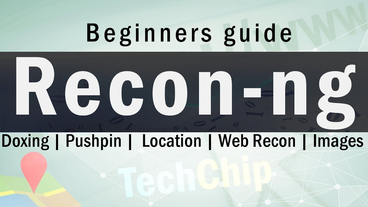 Recon-ng Web Reconnaissance Framework | beginners guide in Hindi | Trace location, Pushpin, Images