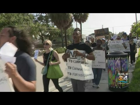 Little Haiti Protest Over Magic City Innovation District