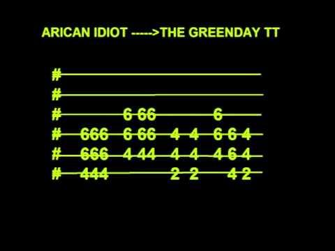 American Idiot Guitar Tab