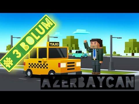 Loop Taxi 》ilk Kez Avtobus Surduk #3 Bolum 》Azeri
