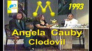 (Abre o Jogo) - CLODOVIL -(ANGELA MARIA CAUBY PEIXOTO) - Manchete - 1993